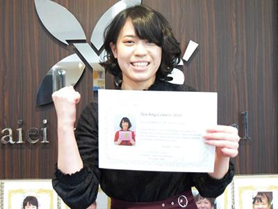 個人部門《2位準優勝》Vice-Champion「河野 友香 講師」